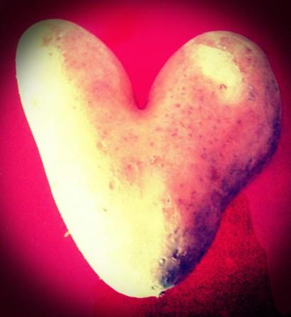 corazón patata
