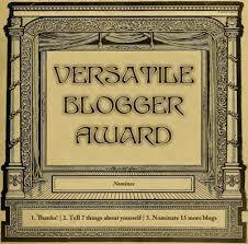 Premio Versatile Blogger Award.